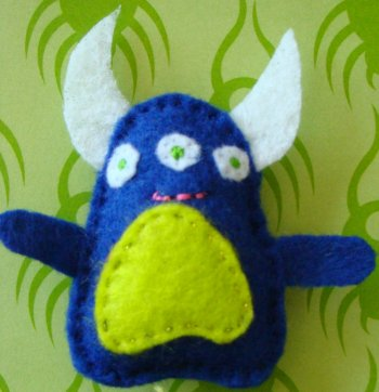 Monster  Plushie